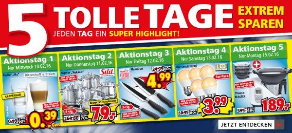 """(Segmüller) 5 Tage je ein Super Schnäppchen zb.  Becher """"Vio"""" von Ritzenhoff & Breker"""