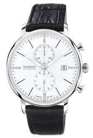 [Amazon] Dugena Herren-Armbanduhr FESTA CHRONO Chronograph Quarz Leder 7000168 für 183,77€ statt 269€