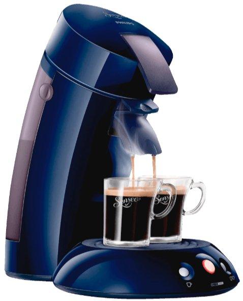 PHILIPS Senseo Original HD7810/45, Kaffeepadmaschine, Blau für 49€ - 5€ NL Gutschein @ Saturn