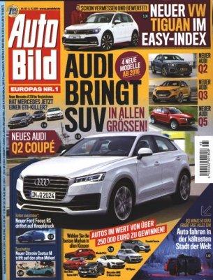 (Kiosk News) Autobild Jahresabo 51 Ausgaben für Effektiv 9,65€
