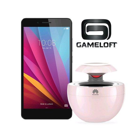 [Vmall] Honor 5X + 2x 49,99€ Gameloft-Gutscheine + Bluetooth-Lautsprecher für 229,99€
