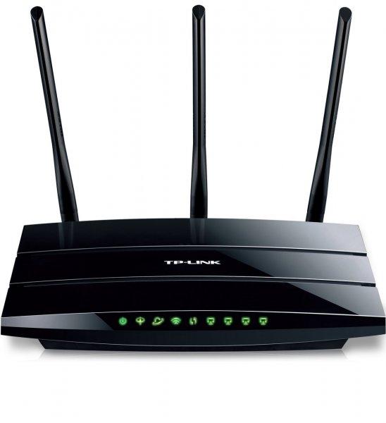 [Amazon.de] [WHD - Sehr gut] TP-LinK TD-W8970B(DE) WLAN Router (ADSL/ADSL2+, 450Mbit/s, Annex B/J, Unterstützt IP-basierte Anschlüsse, 4 Gigabit LAN, 2 USB Ports für FTP und Mediaserver)