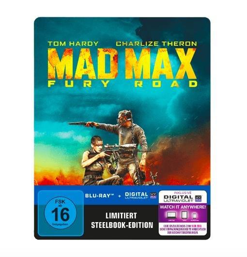 Mad Max 4 - Fury Road (Blu-ray) Steelbook für 12,99€ bei Media Markt
