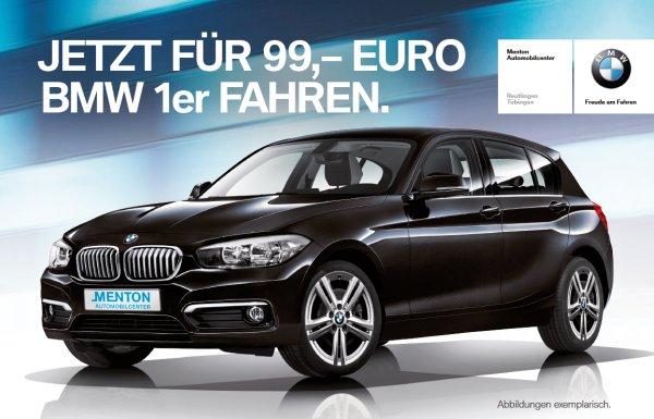 Privatkundenleasing BMW 116i 5-Türer für nur 99€ im Monat bei 24 Monaten Laufzeit