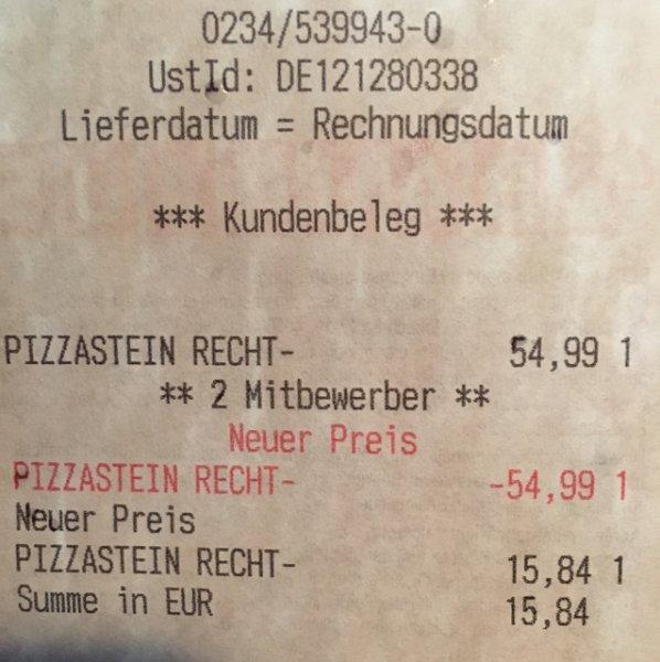 Weber Pizzastein 44 x 30 cm durch Bauhaus TPG für 15.84€