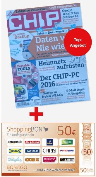 Jahresabo Chip mit DVD für effektiv 14,80€