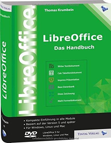 """Buch """"LibreOffice 5.0 - Das Handbuch"""" (Thomas Krumbein, OpenOffice). Gebunden, 768 Seiten. 33,69€ statt 39,50€: 17% billiger. [Amazon.it]"""