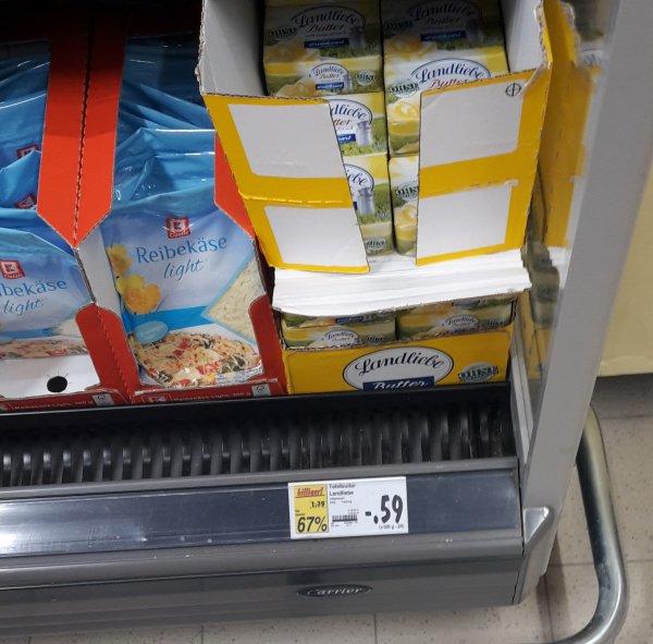 lokal Kaufland erkner  Landliebe Tafelbutter 250g für 0,59€