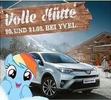 Autohaus Yvel: Volle Hütte! Kostenlose Probefahrten / Brotzeit- & Kaiserschmarrn Buffet / Kinderschminken, Ballonkünstler, u.v.m. (LOKAL: Düsseldorf / 20. & 21. Februar)