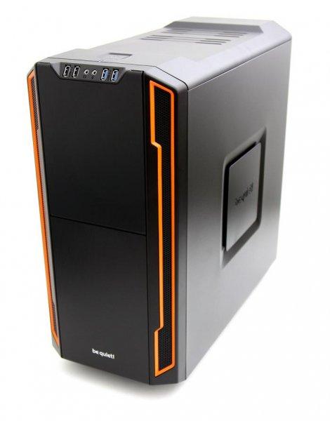 PC Gehäuse - be quiet! Silent Base 600 Midi-Tower - orange