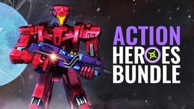 [Steam] Action Heroes Bundle (8 Spiele, teilweise mit Sammelkarten) für 1,99€ (VPN: $1,99) @ Bundle Stars