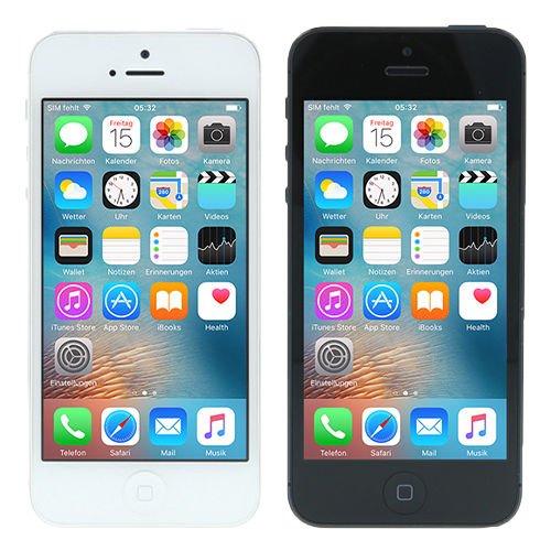 Apple iPhone 5 16 GB Smartphone in Schwarz und Weiß - Refurbished @ebay 199,90€