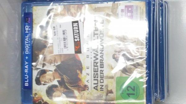 [Lokal Saturn Jena?] Maze Runner 2 - Die Auserwählten in der Brandwüste auf Blu-ray für 12€ / DVD 9€