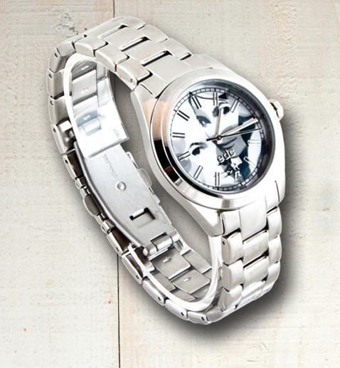 "[Buyfox] edc Damen Armbanduhr ""Mystic Madam"" aus Edelstahl für 9,99€ inkl. Versand statt 24€"
