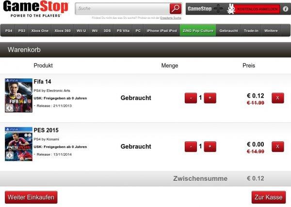 2 für 1 - Zwei XBOX 360 oder PS3 Spiele für ~ 4,00€ incl. Versand