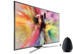 "[Amazon] Samsung UE60JU6850 UHD Smart TV 60"" Silber Triple Tuner + Samsung R6 Speaker WAM6500 / WAM6501"