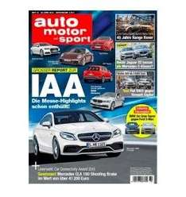 Auto, Motor & Sport Jahresabo für 8,80€ (Direktrabatt)