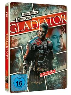 Gladiator - Reel Heroes Edition / Steelbook (Blu-ray) für 9,49€ bei Media Dealer