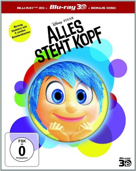 [Thalia.de] Alles steht Kopf (3D+2D BD - Limited Edition) für 24,89 € (VSK-frei)