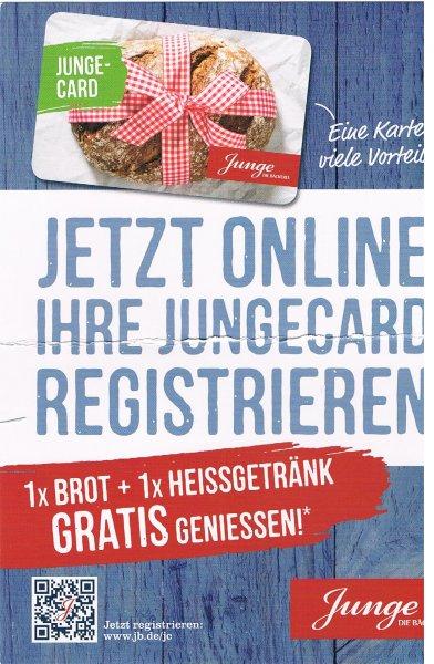 Stadtbäckerei Junge (HH, HL, ...) Brot & Heißgetränk gratis