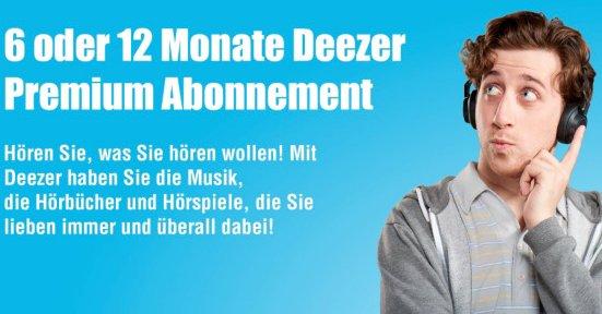 Deezer Premium+ Abonnement für 29€ (6 Monate) und 59€ (1 Jahr)