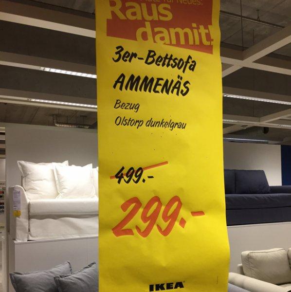[Lokal] Bettsofa Ammenäs @ Ikea HH-Moorfleet