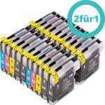 2x 20er Sparset Tintenpatonen alternativ zu Brother LC1100, 37,75€ bei Silvertrade