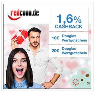 [Redcoon über Qipu] 10 Euro Douglas Gutschein (49€ MBW) oder 20 Euro Douglas Gutschein (89€ MBW) zu fast jeder Bestellung