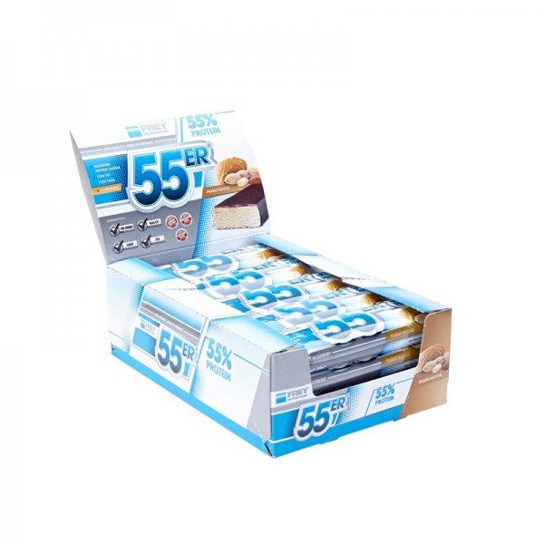 [fitnessgarage.de] Frey Nutrition 55er Protein 20x 50g Eiweiß Riegel für 26,85