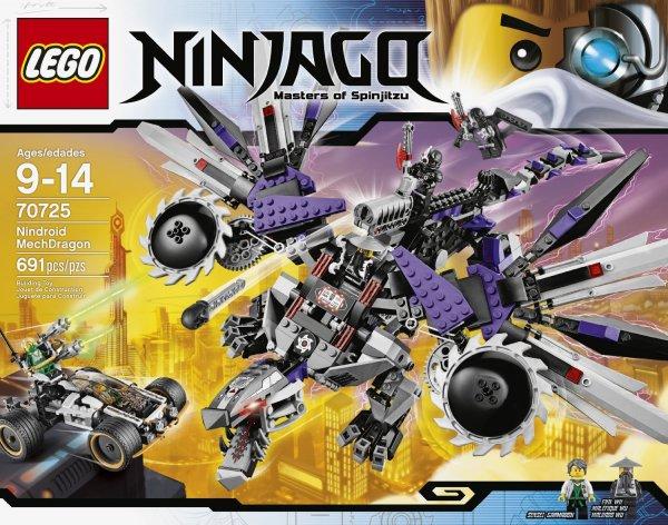 Amazon: Lego Ninjago 70725 Nindroid Robo-Drache (QIPU möglich)