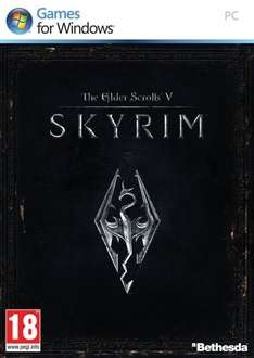 The Elder Scrolls V: Skyrim Steam Code via amazon.co.uk für 3,20
