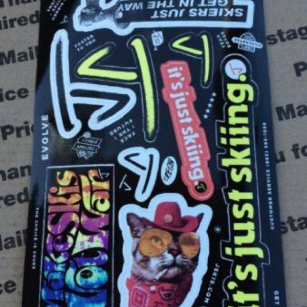 Sticker von jskis.com