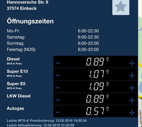 Super für 1.09 in Einbeck