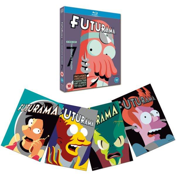 Zavvi-OT-Blu-rays: Futurama Season 6 oder 7 14,92€, Danny Boyle Col. 14,34€, Ponyo Steelbook 11,47€