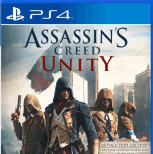 Assassins Creed Unity (PS4/XBOX) @shop4de.com