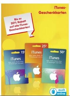 [Netto] iTunes-Geschenkkarten bis zu 20% günstiger [ohne Hund]