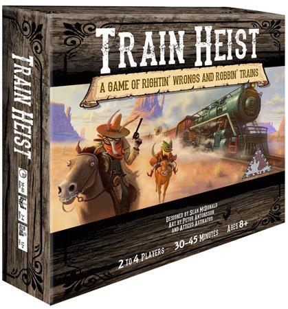 Train Heist (Brettspiel, Gesellschaftsspiel, Spiele-Offensive.de)