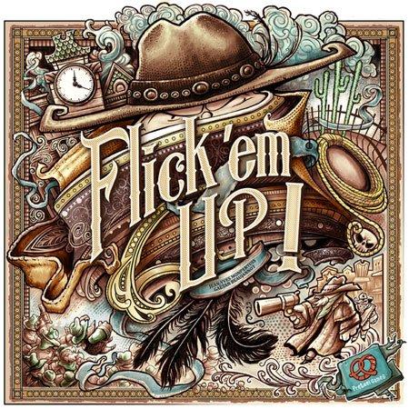 Flick'em Up! / Katakomben (Brettspiel / Schnippspiel)