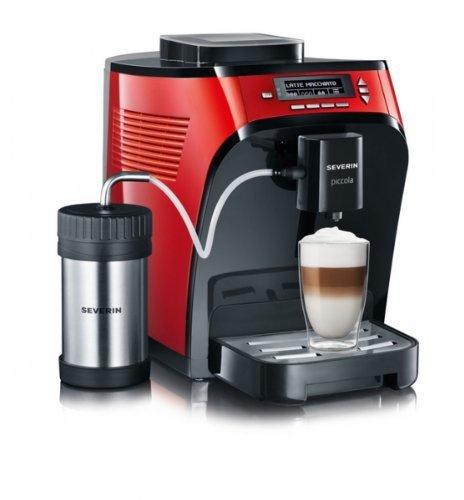 """Severin KV 8062 Kaffeevollautomat """"Piccola premium""""  rot metallic / schwarz -----Deal gut versteckt und für (fast) niemanden zu finden. -------"""