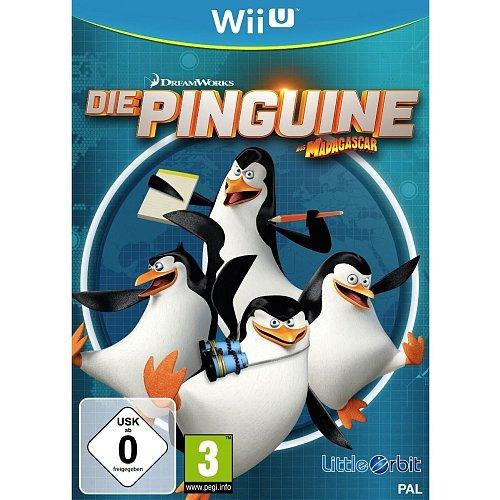 *Wieder Vorrätig* [Toys'R'Us Online Shop] Wii U - Die Pinguine aus Madagascar - für 12,95€ inkl. Versand