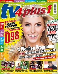 Gratis TV4Plus1 Probeheft ( unverbindlich)