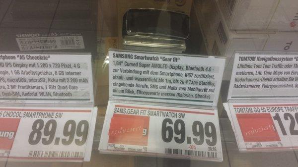 [Schweinfurt,  Marktkauf] Samsung gear fit 69,99€