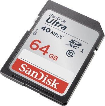 [Saturn] Sandisk Ultra SDXC Class 10 / U1 mit 64GB für 15€ versandkostenfrei *** 2x für je 12,50€