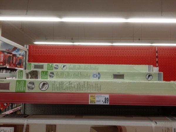 [LOKAL] Kaufland Rathenow - Lichtschachtabdeckung Alu 115x60 (kürzbar) 0,89€ statt 17,99€