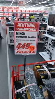 [Lokal] Nikon D3300 Kit 18-55mm VRII @Media Markt Coburg