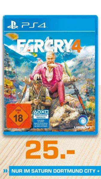 [Saturn Dortmund City und Witten] PS4 Far Cry 4 für  25€