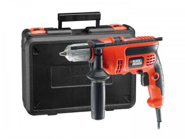 [Penny und ebay] Black & Decker Schlagbohrer KR714CRESK mit 710 Watt für 39,99 €