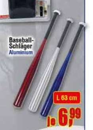 [Centershop] Baseballschläger aus Aluminium