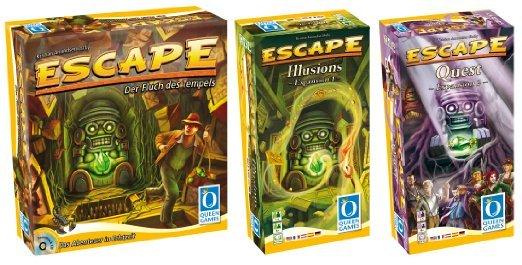 [Amazon.de] Escape Bundle mit Illusions und Quest Erweiterung (Brettspiel)