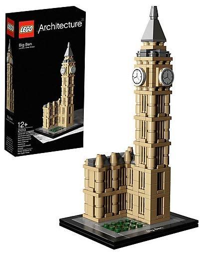 Lego 21013 Big Ben für 20,99€.  17,99€/Stück möglich mit Gutschein bei 3 Stück